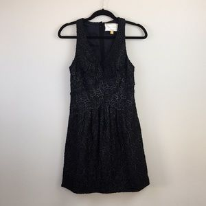 ANTHROPOLOGIE Black Lace Dress